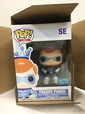 Funko Pop! Metallic Superhero Freddy Funko 5000 PCS Make A Wish IN HAND!!!!!