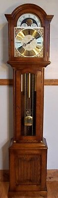 Grandfather Clock-Exc Cond/Hermle Triple Chime/NATIONWIDE PERSONAL DELIVERIES
