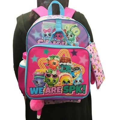"Shopkins 16"" Kids' Backpack - 7pc Set"
