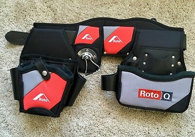 Roto Q Superior Heavy Duty Tool Belt - Rare.