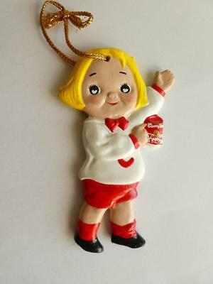 Vintage Campbell's Soup Kid Christmas Ornament