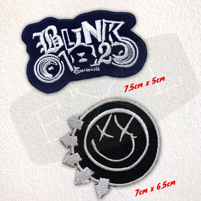 BLINK 182 Rock Indie Music Metal Grunge Punk Iron on Embroidered Patch
