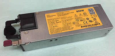 HP HSTNS-PL41 800W 80 Plus Platinum 723600-201 PSU PROLIANT DL360 DL380 ML350 G9