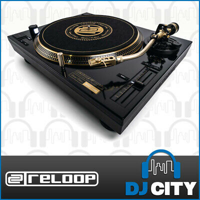 Reloop RP-7000mk2 Gold DJ Turntable Vinyl Scratch Direct Drive Record Player