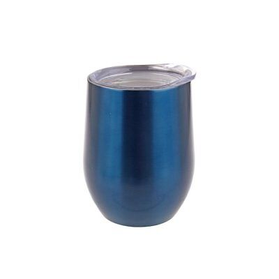 NEW Oasis Double-Walled Wine Tumbler 330ml Sapphire