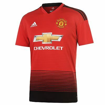 Manchester United 2018/2019 Home Football Shirt 2018/19 Mufc Kit New With Tags