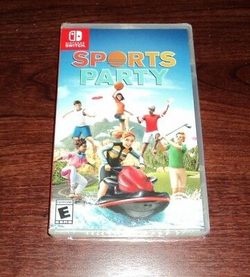 Sports Party for Nintendo Switch - BRAND NEW & FACTORY SEALED!