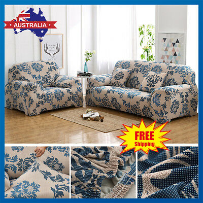EASY FIT Stretch Couch Sofa Lounge Printing Covers Recliner Dining Chair Cover
