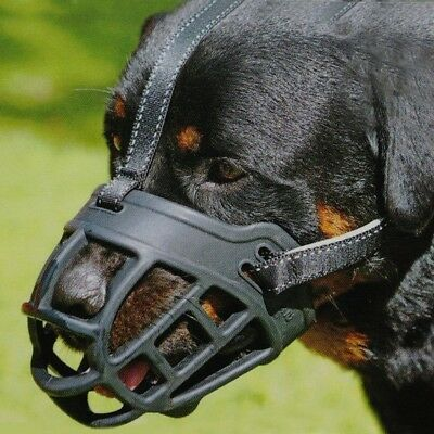 Dog Basket Muzzle Mouth Grooming Silicone Mesh Cage Anti-Bark Bite Chew Control