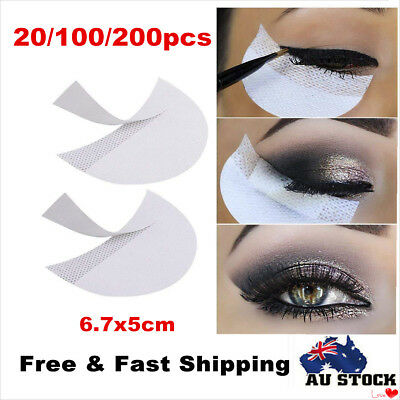 Eye Shadow Shields Patches Eyelash Pad Under Winged Eyeliner Stickers Makeup #S