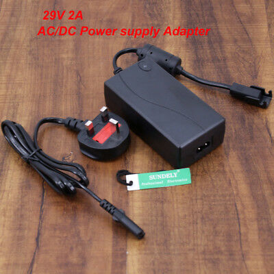 29V 2A AC/DC Power Supply Adapter Transformer For Electric Recliner Sofa Chair