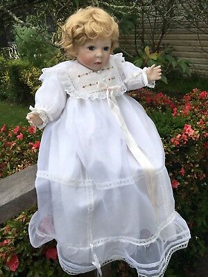 Stunning Florence Collection  Signed & Numbered Porcelain Bisque Baby Doll