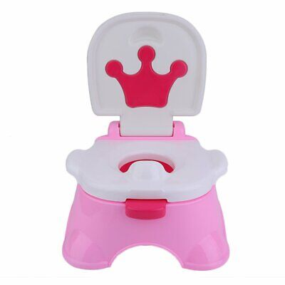 3 in 1 Baby Toddler Toilet Trainer Safety Pink Music Potty Training Seat Urinal