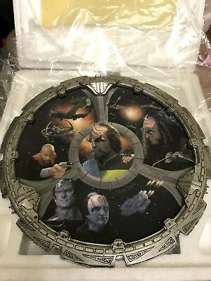 Star Trek The Way Of The Warrior Collector Plate By Dru Blair Hamilton DS9