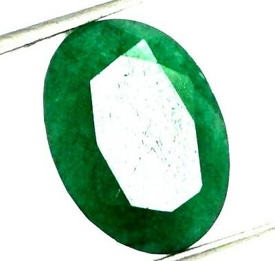 GGL Certified 5.95 Ct Natural Oval Cut Green Emerald Gemstone Hurry Now
