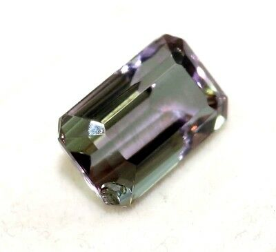 Christmas Offer GGL Certified 7.35 Ct Charming Emerald Cut Changing Alexandrite