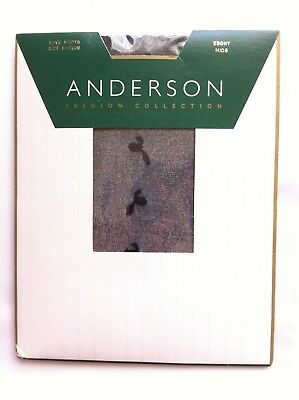 Love Knots Side Design Anderson Fashion Collection Ebony Mids New In Pack Black