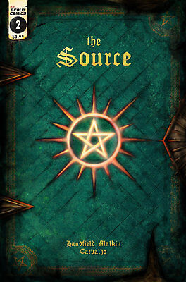 The Source #2 1st Print Cover Scout Comics