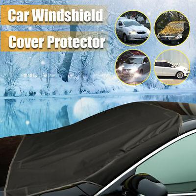 Car SUV Magnet Windshield Cover Sun Shield Snow Ice Frost Freeze Protector B-a