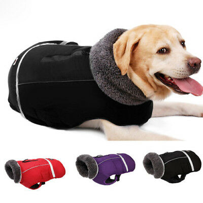 Pet Winter Thicken Coat Waterproof Warm Vest Clothes For Small Large Dog