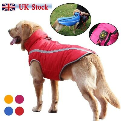 Medium Large Dog Clothes Coat Jacket Winter Waterproof Pet Clothing Vest