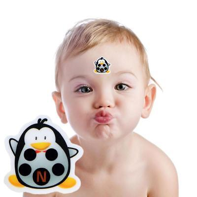 Baby Kid Forehead Cartoon Strip Head Thermometer Fever Body Temperature Test UK