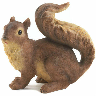 Verdugo Gift Brown Curious Squirrel Garden Statue Lawn Ornaments Home Decor