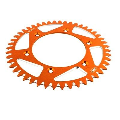 Rear Sprocket Aluminium 47 Tooth Pitch 520 Orange For Husqvarna TX 125 2019