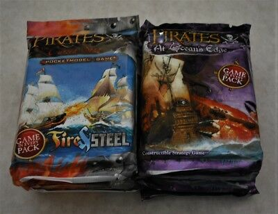 Pirates Wizkids Lot Of 20 Mixed Booster Packs. 6 Series New & Sealed