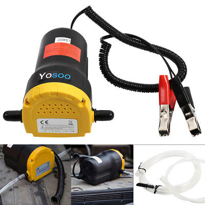 60W Diesel Oil Fluid Transfer Extractor Pump Electric Suction For Car Boat