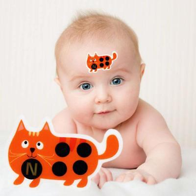 Baby Kid Forehead Cartoon Strip Head Thermometer Fever Body Temperature Test New