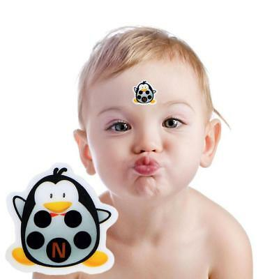 Baby Kid Forehead Cartoon Strip Head Thermometer Fever Body Temperature Test