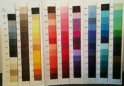 Sateen Lesur Polyester Cotton 100% Sewing Thread 100m Every colour stocked