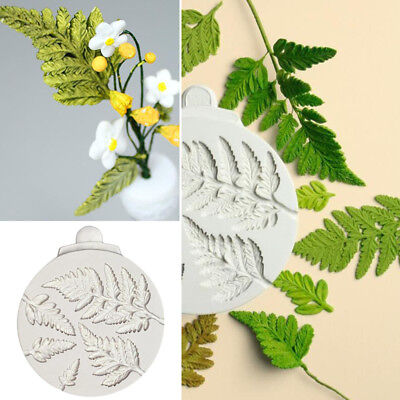 Leaves Silicone Fondant Mould Cake Plant Flowers Leaf Decorating Chocolate Mold