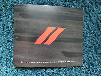 2017 Dodge Hellcat Srt Viper Charger Challenger Brochure Full Line New And Cool