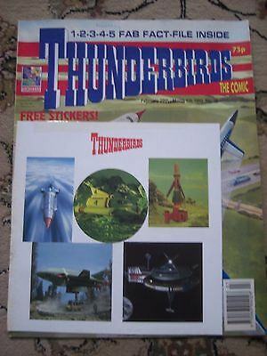 Thunderbirds The Comic No. 36 February 20th - March 5th 1993