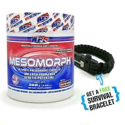 Pre-Workout Mesomorph APS - Grape - Plus FREE Survival Bracelet  - SHIPS FAST