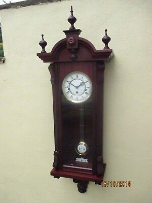 Franz Hermle vienna Westminster Chime Wall Clock.