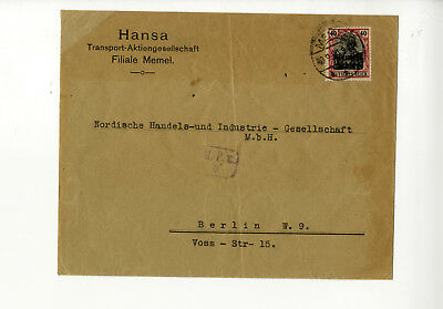 Germania 40 Pfg. auf Brief nach Berlin-KR007640109