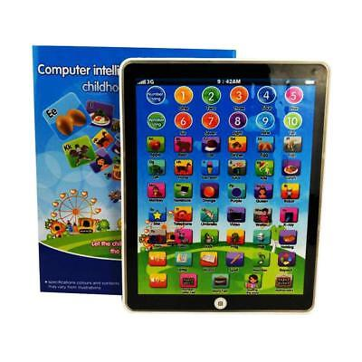 Kids Children Tablet Pad Educational Learning ABCs Toy Gift For Boys Girls Baby