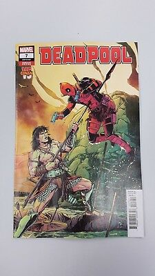 Marvel Comics - Deadpool #7 Conan Laming Variant (2019) - BN Bagged and Boarded