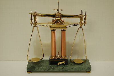 Vin Rare Gold Scale, Justice Scale, Balance Scale, Pharmacy Scale, Brass, copper