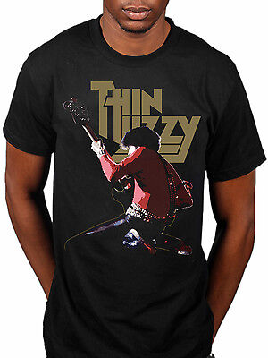 Official Thin Lizzy Phil Lynott Live NEW T-Shirt Rock Band Merch Skid Row Dare