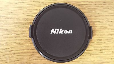 77mm Front Snap On Lens Cap for Nikon made by Sonia.