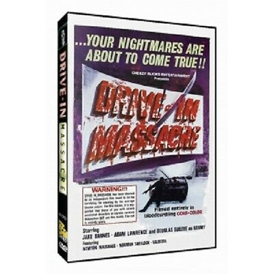 Drive-In Massacre (DVD, 2007)-Bloody-Gore-Horror-Cars-Double Feature