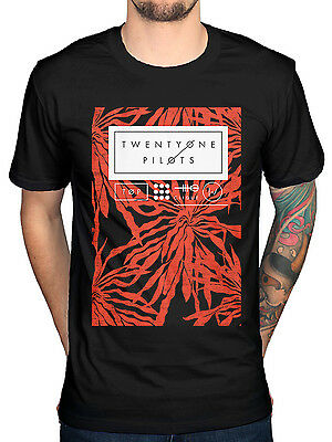 Official Twenty One Pilots Ride Board T-shirt New Blurryface Regional Pattern