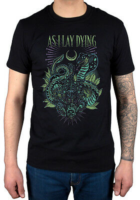 Official As I Lay Dying Cobra T-Shirt New Merch An Ocean Between Us Nothing Left