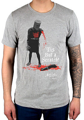 Official Monty Python Tis But A Scratch T-shirt Comedy Mock Up Merch