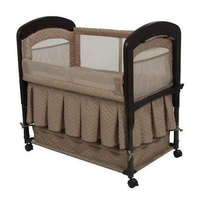 Arm's Reach Co-Sleeper Cambria Bassinet, Toffee