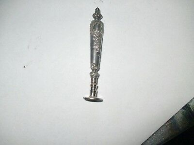 Antique Silver Plate Ornate Wax Seal